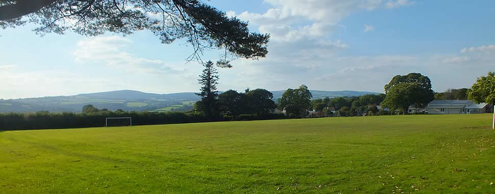 The recreation field in South Hill