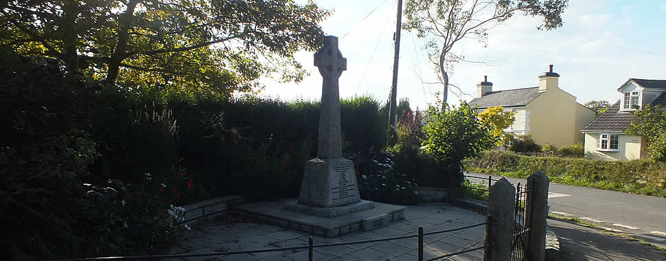 The War Memorial, South Hill